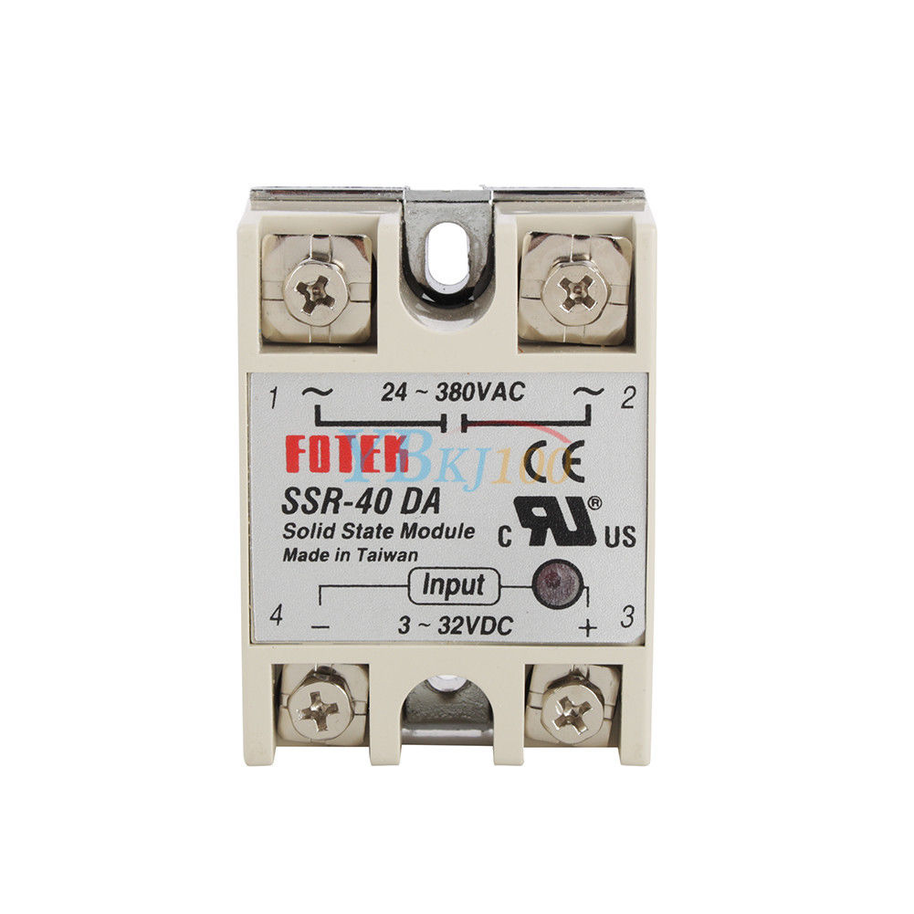 Pid Rex C100 Temperature Controller 40a Solid State Relay K Wiring To The Thermocouple Tp