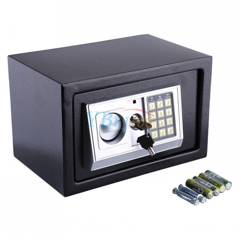 elektronisch safe tresor mit zahlencode notschl ssel led geld m bel tresor top ebay. Black Bedroom Furniture Sets. Home Design Ideas