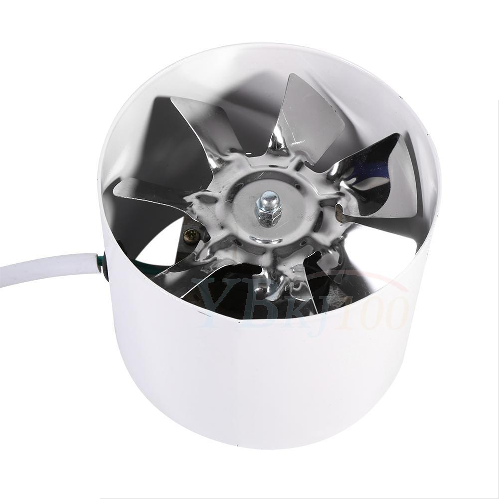 Low Noise 4 Inch Duct Fan Exhaust For Home Shower Bathroom Wet Room Ventilation