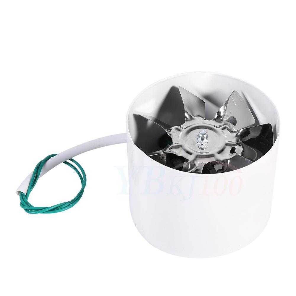 Low Noise 4 Inch Duct Fan Exhaust For Home Shower Bathroom