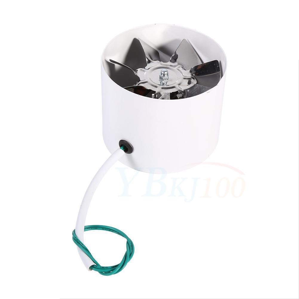 Bathroom Exhaust Fan 3 Inch Duct: Low Noise 4 Inch Duct Fan Exhaust For Home Shower Bathroom