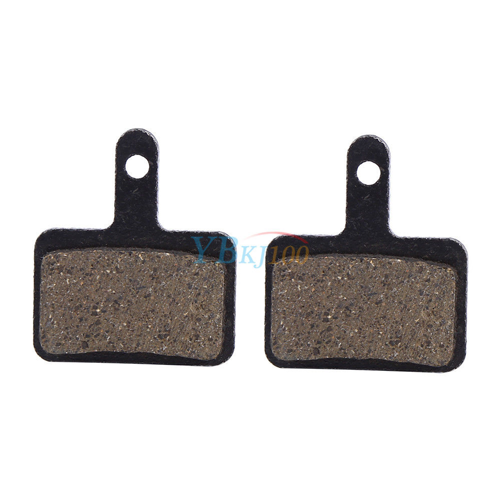 4 Pairs Semi-Metal Disc Brake Pads fit for Shimano DEORE M446 M515 M525 M495 Pro