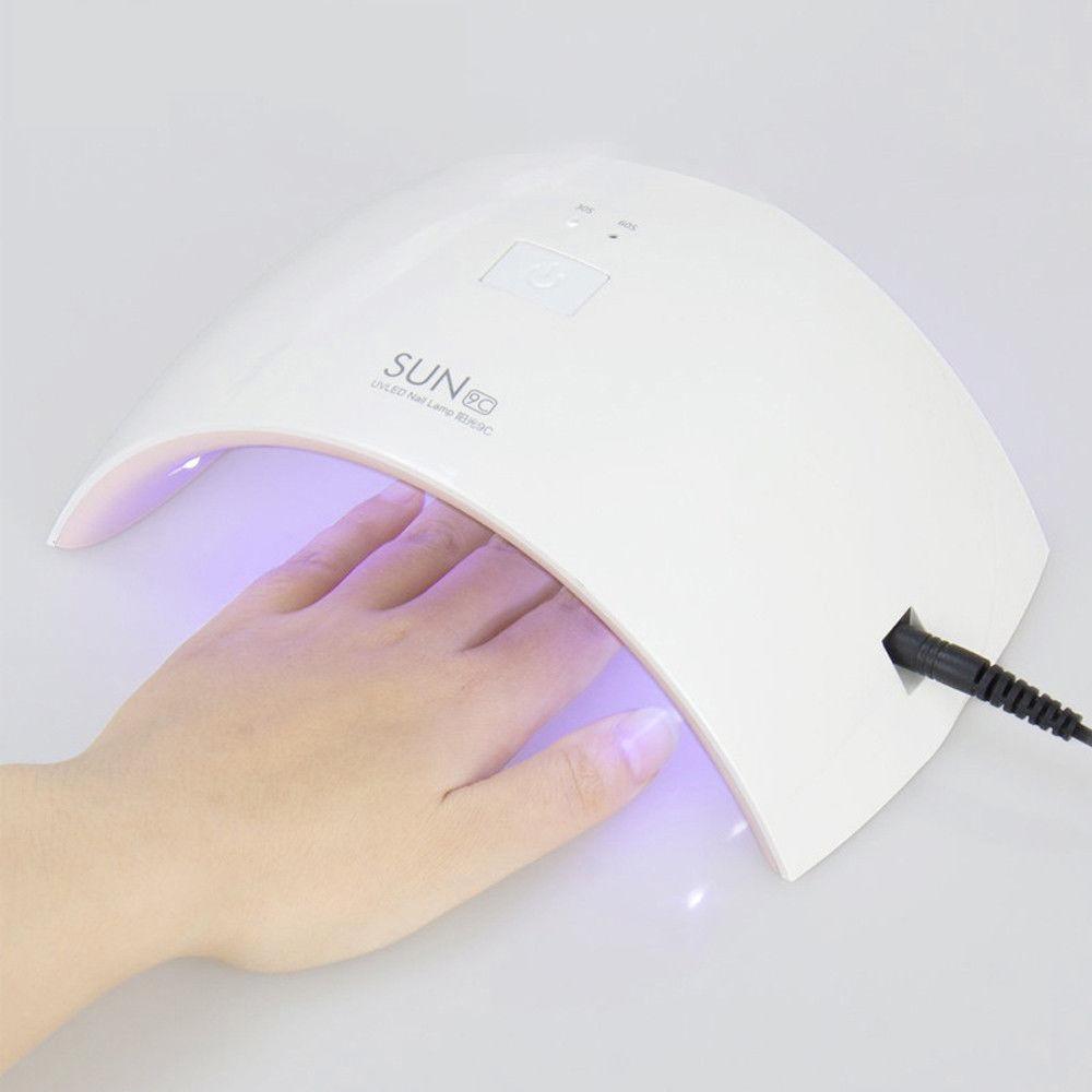 Salon Nail Dryer Machine: UV/LED SUN9c SUN9s Nail Dryers 24W Pro UV LED Lamp Nail