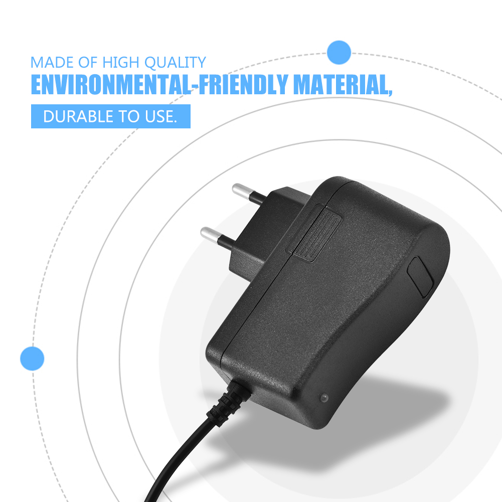 12 6v 1a Power Supply Wall Home Charger Adapter For