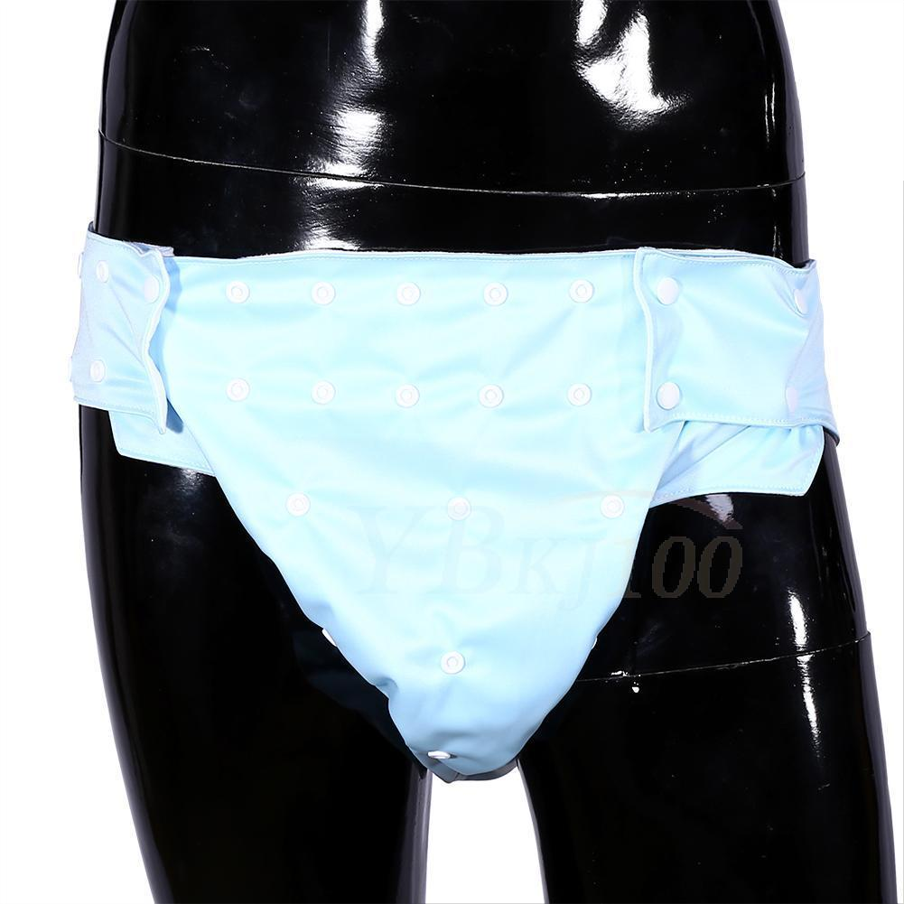 ADULT-ADJUSTABLE-REUSABLE-WASHABLE-INCONTINENCE-PANTS-PAD-NAPPY-DIAPER-KNICKERS