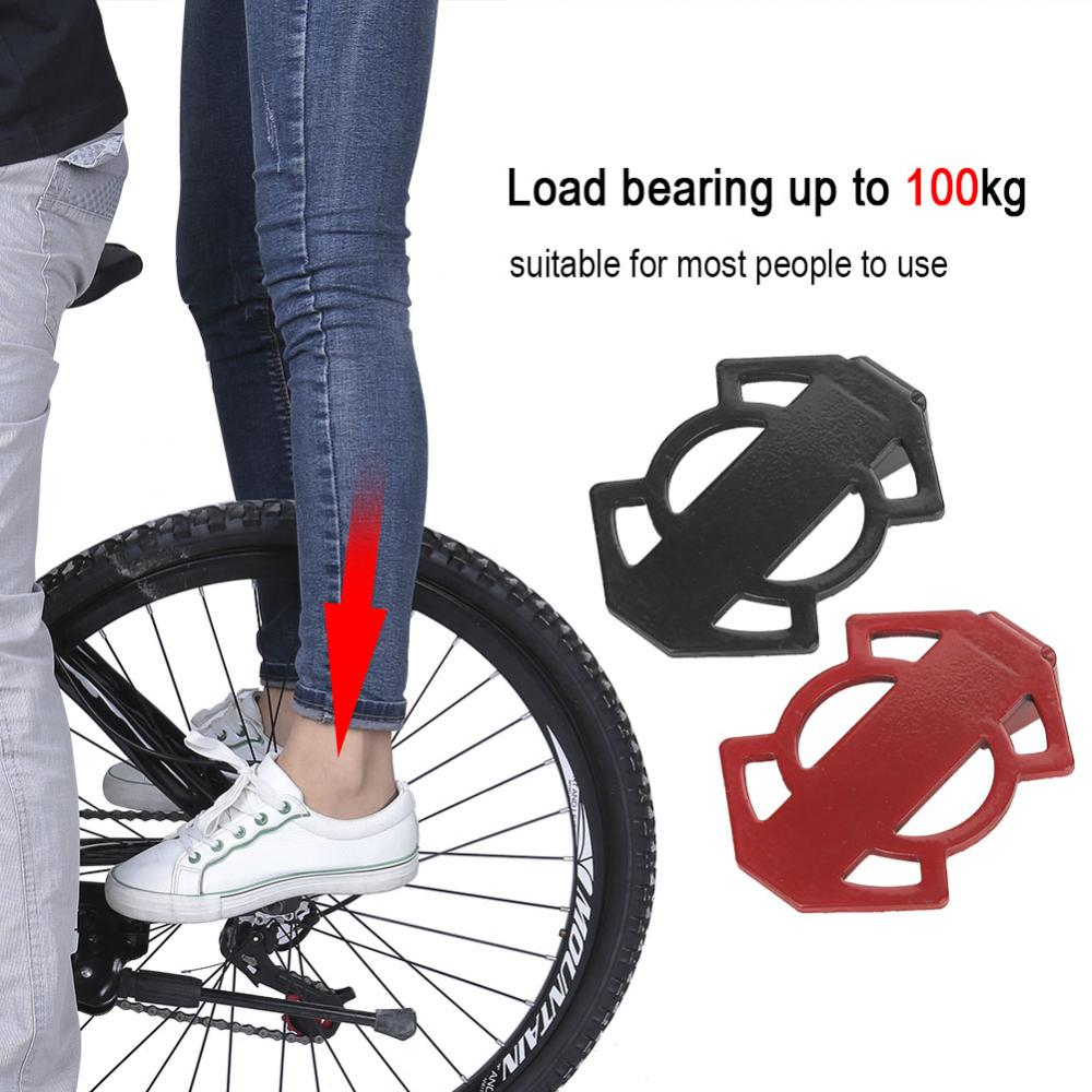 Bicycle-Rear-Foot-Bike-Pedal-Mountain-Road-Cycling-Metal-Back-Stand-Saddle-OB