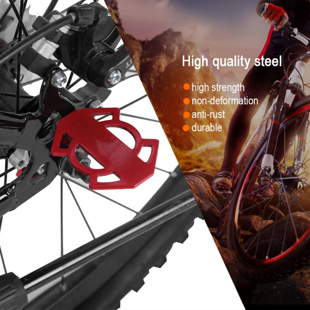 Bicycle-Rear-Foot-Bike-Pedal-Mountain-Road-Cycling-Metal-Back-Stand-Saddle-OB thumbnail 2