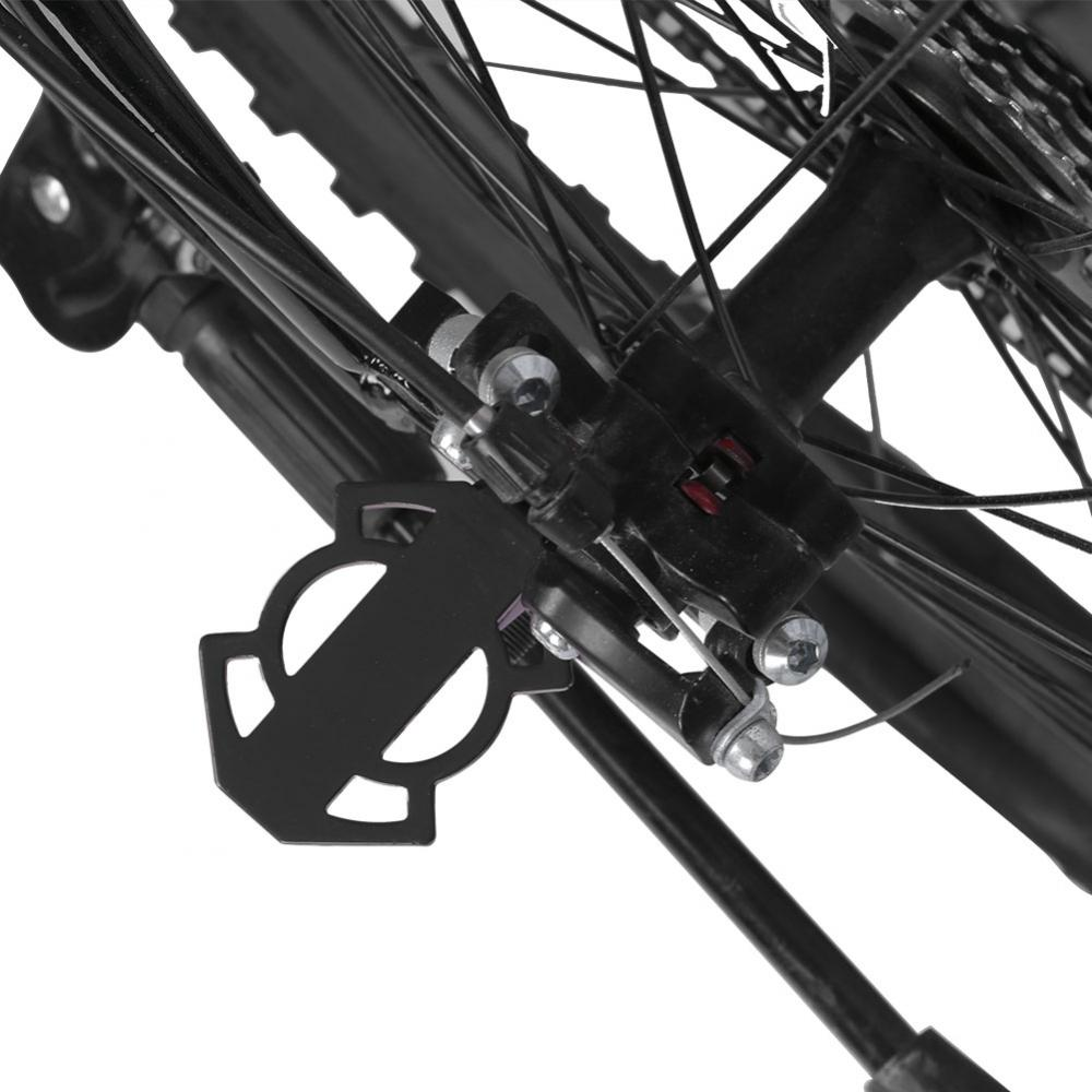 Bicycle-Rear-Foot-Bike-Pedal-Mountain-Road-Cycling-Metal-Back-Stand-Saddle-OB thumbnail 4