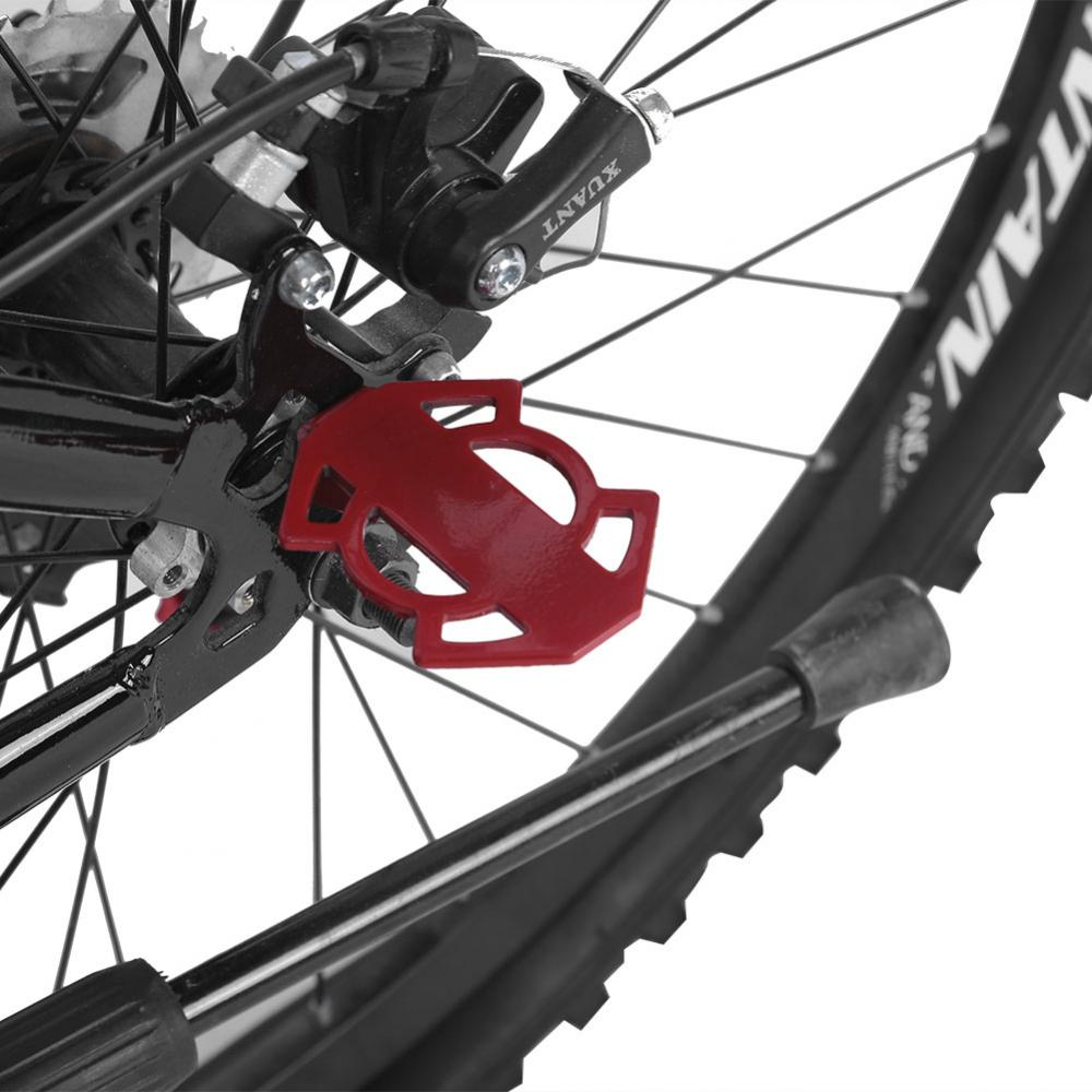 Bicycle-Rear-Foot-Bike-Pedal-Mountain-Road-Cycling-Metal-Back-Stand-Saddle-OB thumbnail 5