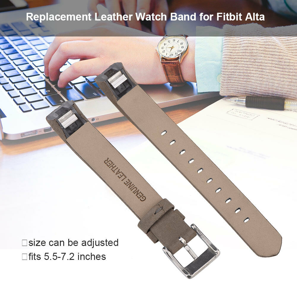 Replacement-Genuine-Leather-Belt-Wrist-Watch-Band-Strap-Bracelet-For-Fitbit-Alta thumbnail 7