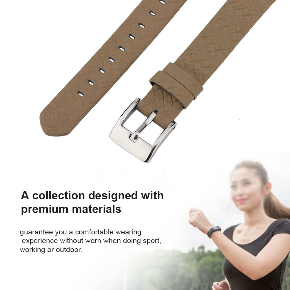Replacement-Genuine-Leather-Belt-Wrist-Watch-Band-Strap-Bracelet-For-Fitbit-Alta thumbnail 17