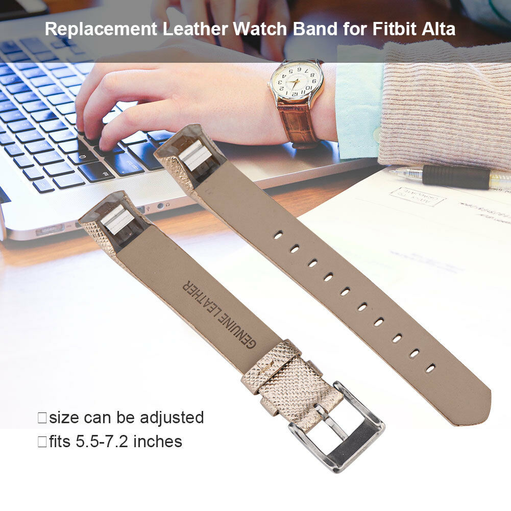 Replacement-Genuine-Leather-Belt-Wrist-Watch-Band-Strap-Bracelet-For-Fitbit-Alta thumbnail 19