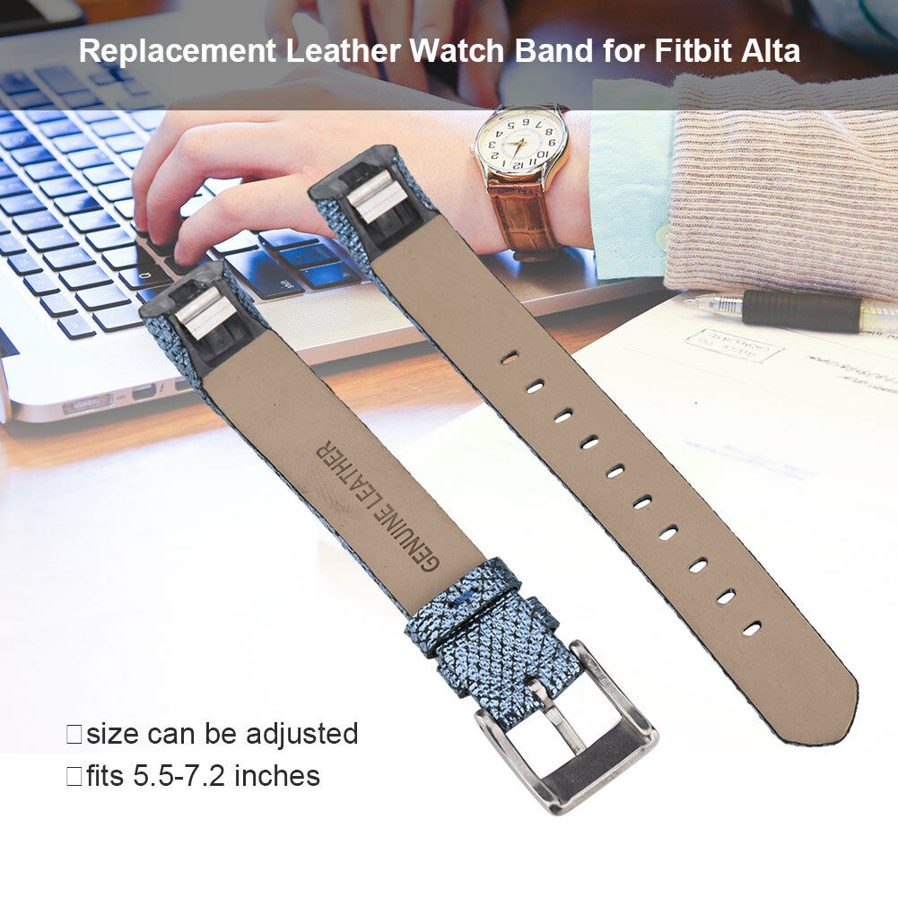 Replacement-Genuine-Leather-Belt-Wrist-Watch-Band-Strap-Bracelet-For-Fitbit-Alta thumbnail 25