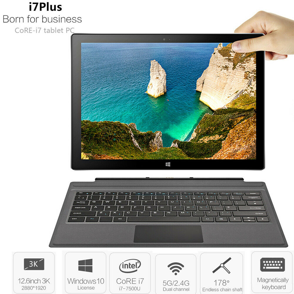 12-6inch-VOYO-i7-Plus-8G-256G-16G-512G-FHD-2880-1920-Tablet-Laptop-for-Win10-MS thumbnail 16