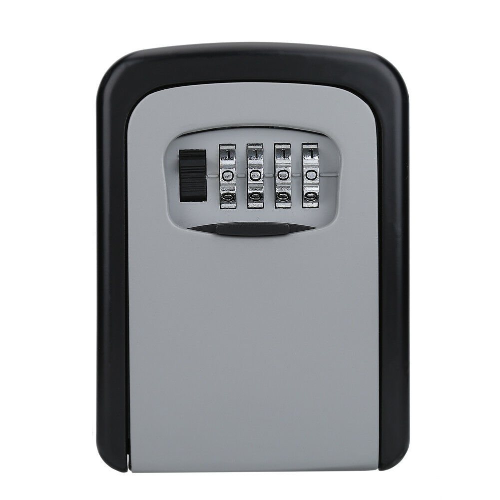 4-Digit-Password-Combination-Key-Safe-Security-Storage-Box-Lock-Case-Wall-Mount thumbnail 16