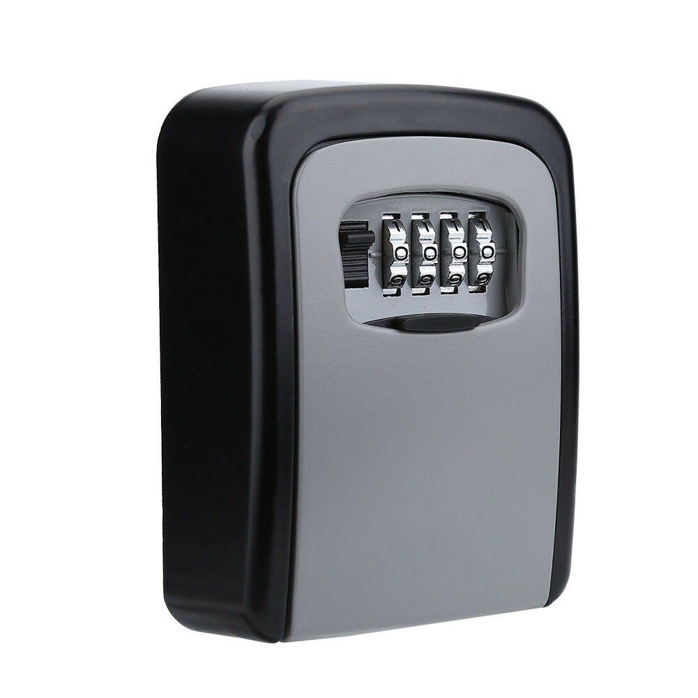 4-Digit-Password-Combination-Key-Safe-Security-Storage-Box-Lock-Case-Wall-Mount thumbnail 17