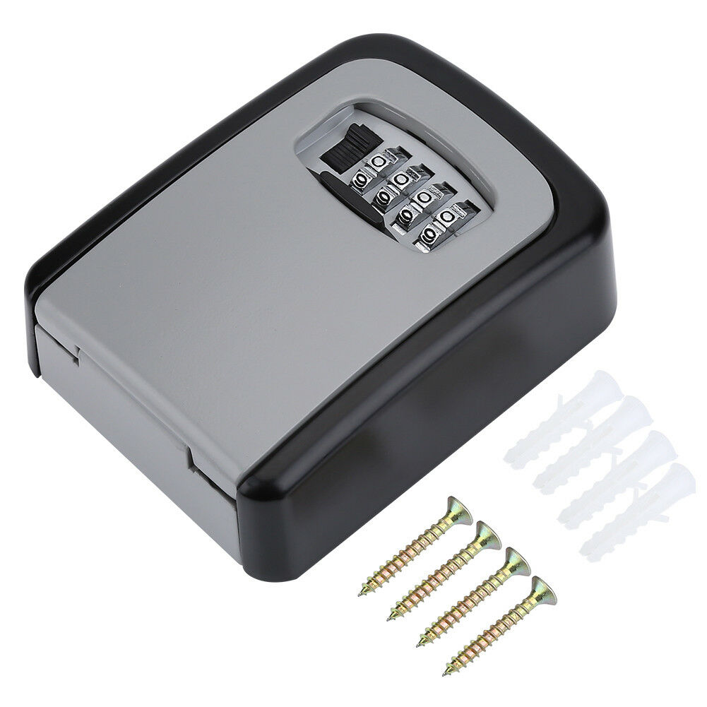 4-Digit-Password-Combination-Key-Safe-Security-Storage-Box-Lock-Case-Wall-Mount thumbnail 18