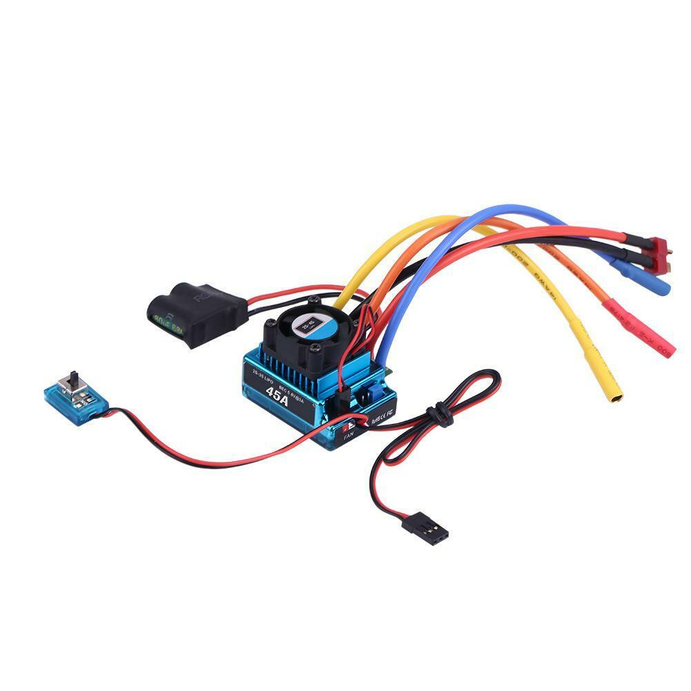 Rcharlance-Waterproof-45A-80A-120A-Brushless-ESC-Electric-Speed-Controller-sg miniature 12