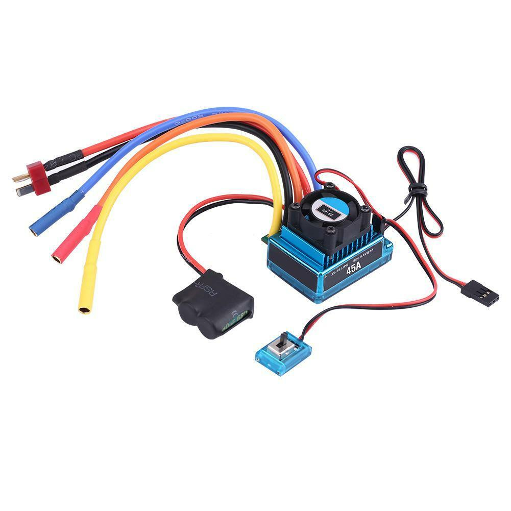 Rcharlance-Waterproof-45A-80A-120A-Brushless-ESC-Electric-Speed-Controller-sg miniature 13