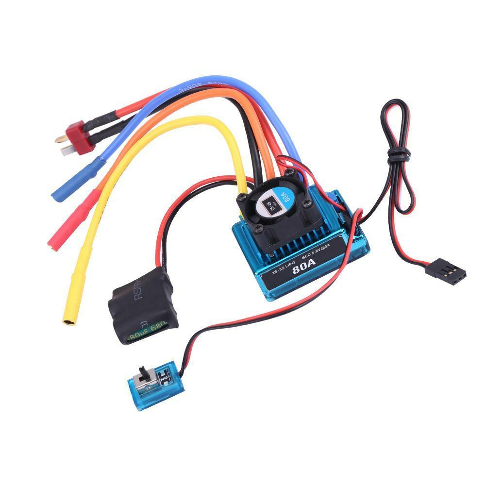 Rcharlance-Waterproof-45A-80A-120A-Brushless-ESC-Electric-Speed-Controller-sg miniature 15