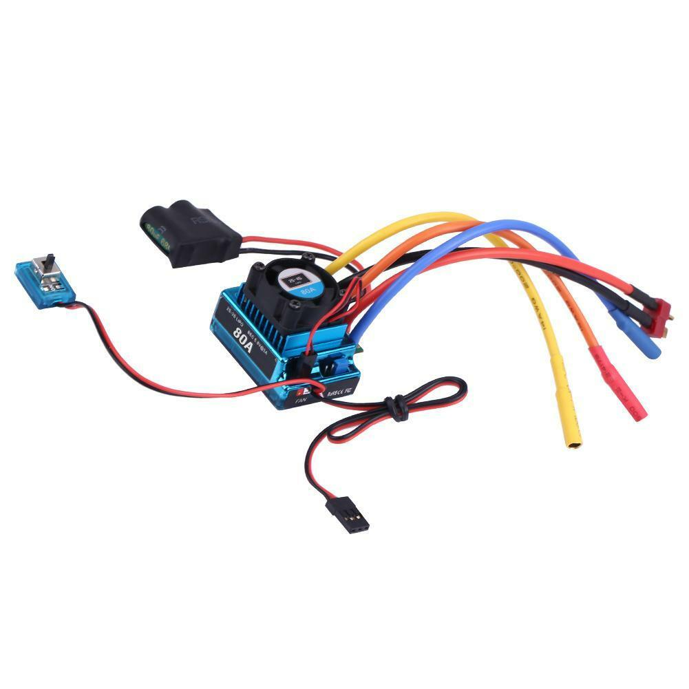 Rcharlance-Waterproof-45A-80A-120A-Brushless-ESC-Electric-Speed-Controller-sg miniature 16