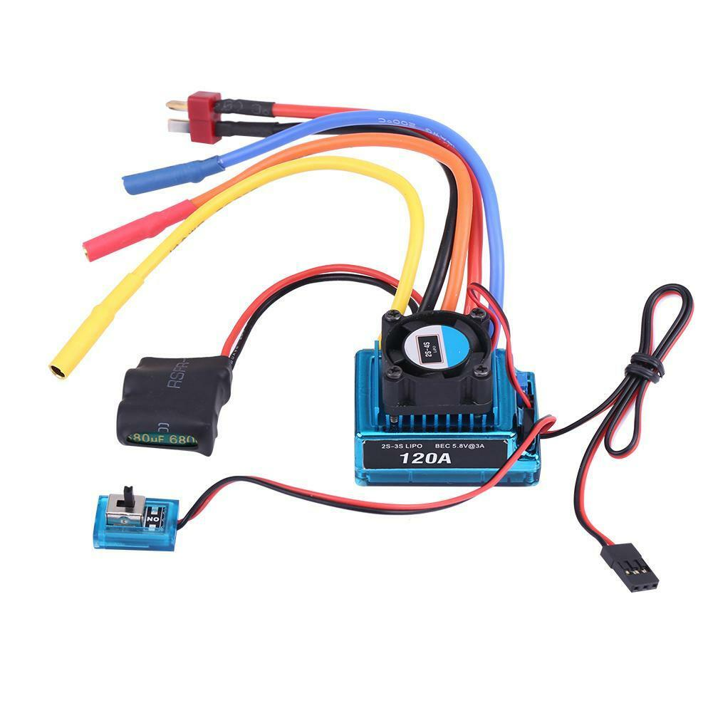Rcharlance-Waterproof-45A-80A-120A-Brushless-ESC-Electric-Speed-Controller-sg miniature 18