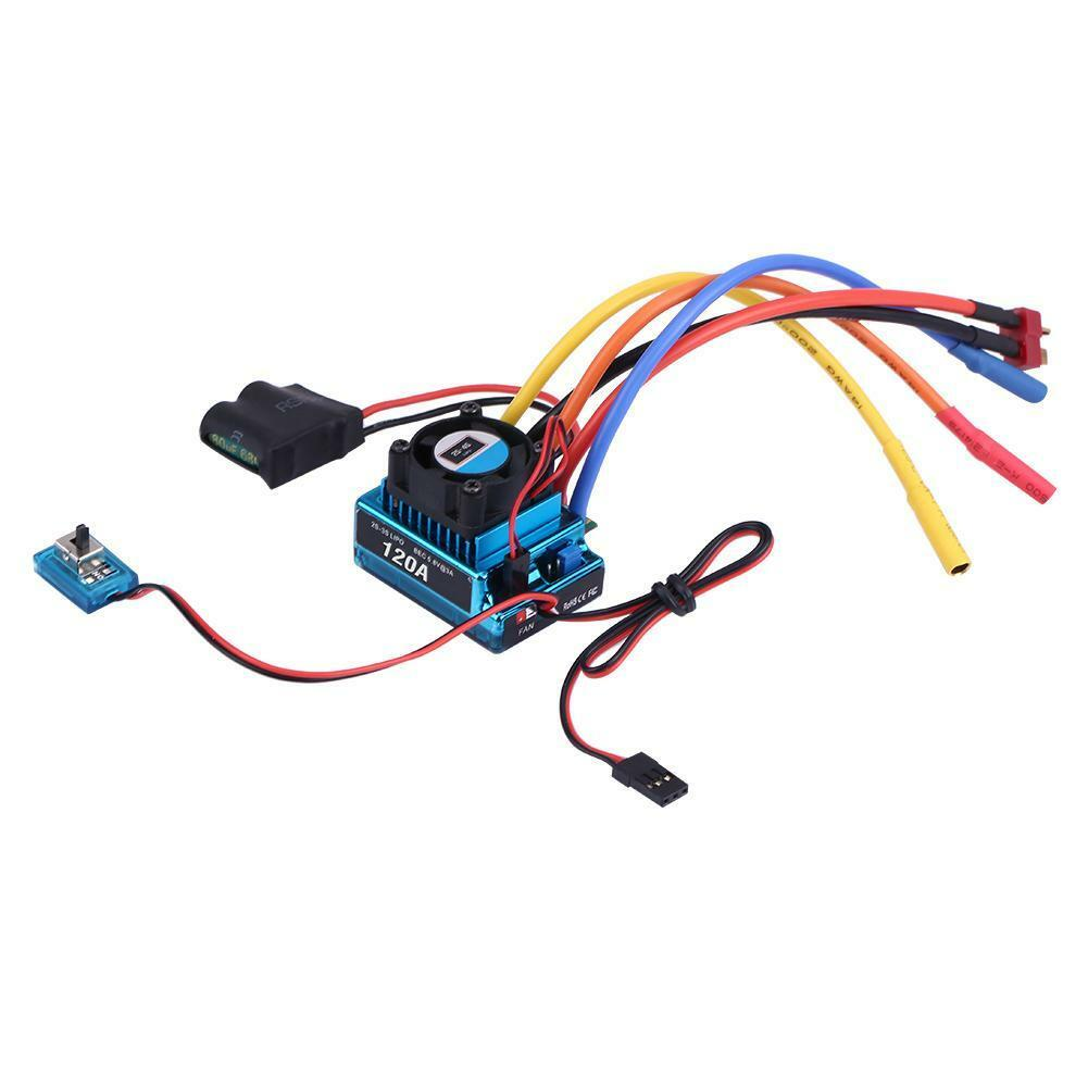 Rcharlance-Waterproof-45A-80A-120A-Brushless-ESC-Electric-Speed-Controller-sg miniature 19