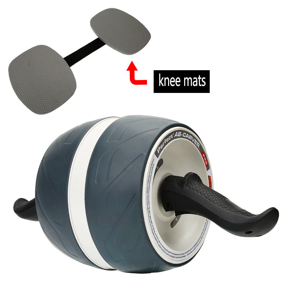 Abdominal-Roller-Wheel-Workout-Gym-Exerciser-Muscle-Fitness-Machine-Exercise miniature 22