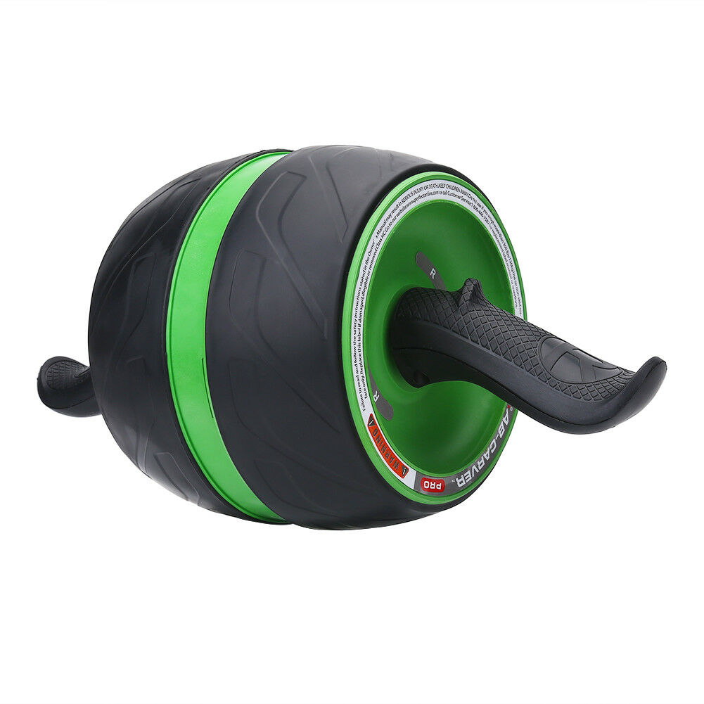 Abdominal-Roller-Wheel-Workout-Gym-Exerciser-Muscle-Fitness-Machine-Exercise miniature 26