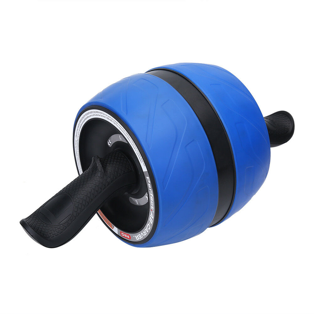 Abdominal-Roller-Wheel-Workout-Gym-Exerciser-Muscle-Fitness-Machine-Exercise miniature 34