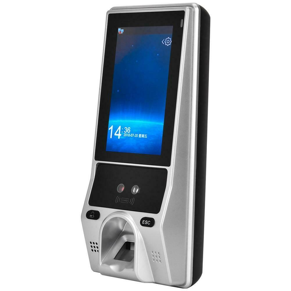 Face Biometric Fingerprint Recognition ID Card Password