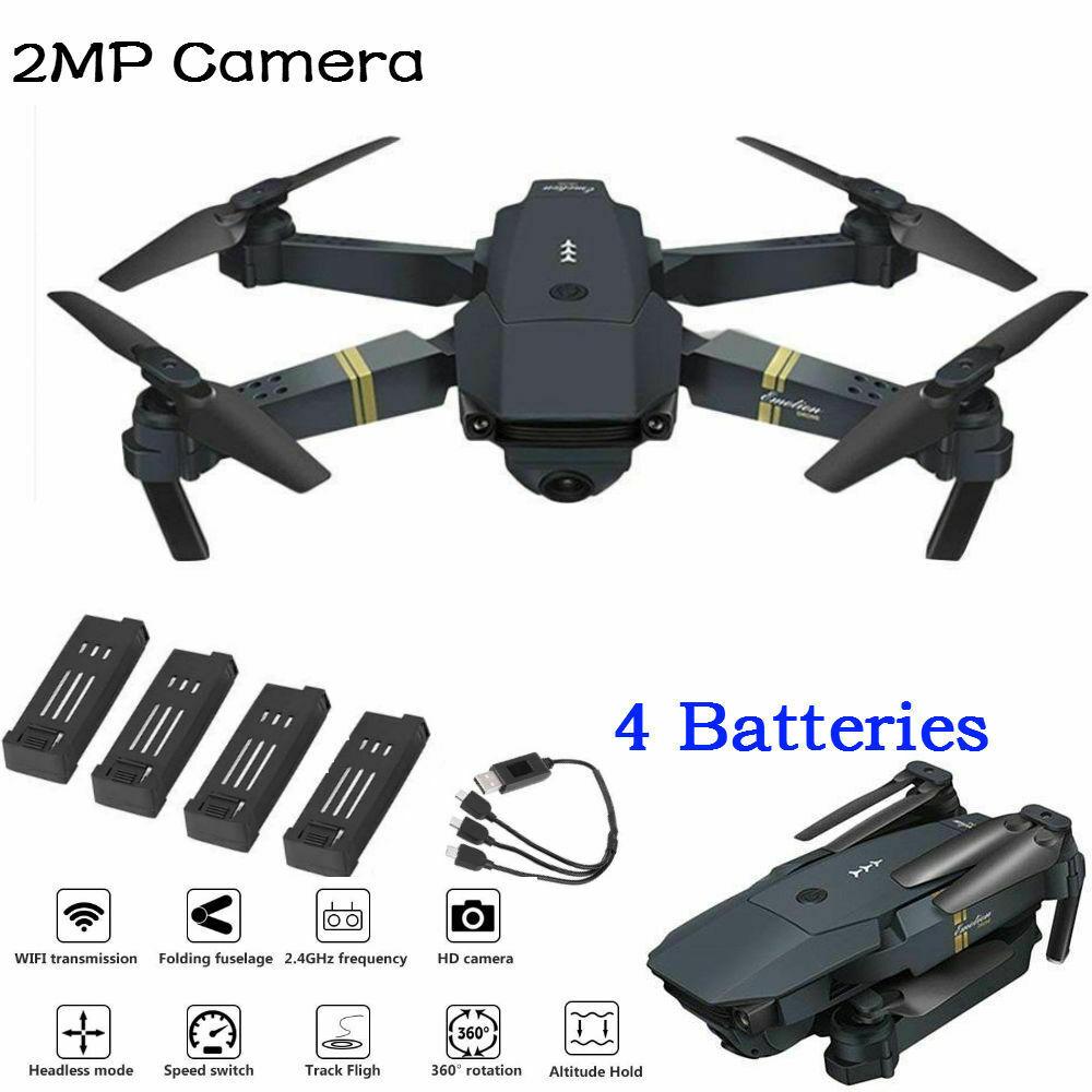 Drone x Pro 2.4G Selfi Selfi Selfi WIFI FPV avec Quadricoptère Pliable RC 4 Caméra HD  mejor marca
