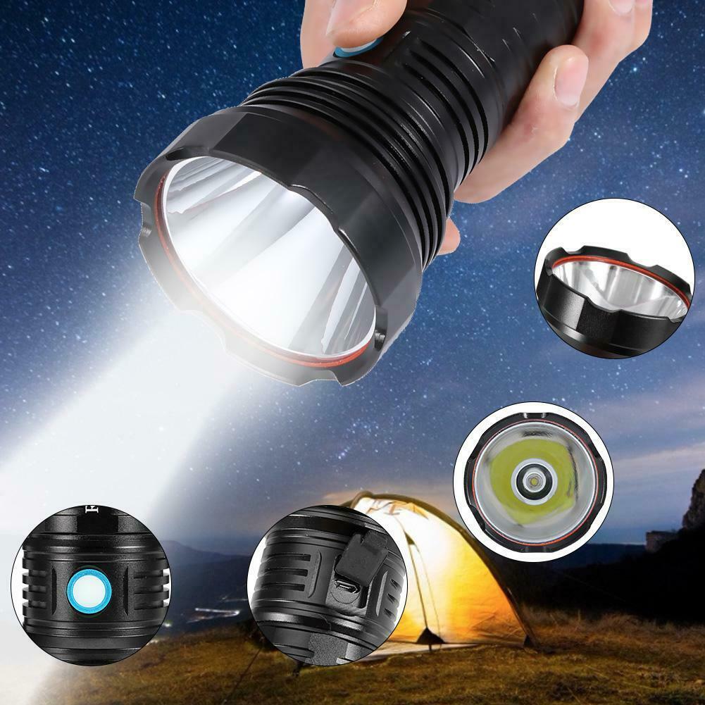 Wasserdichte led taschenlampe hohe helle taschenlampe für outdoor camping notfal