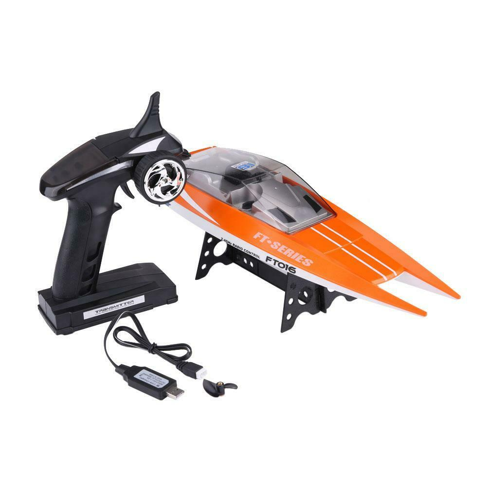 2-Color-RC-2-4GHz-Remote-Control-4-Channel-Boat-Racing-Speedboat-Model-Toy-Ship miniature 14