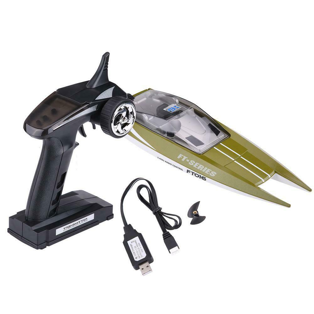 2-Color-RC-2-4GHz-Remote-Control-4-Channel-Boat-Racing-Speedboat-Model-Toy-Ship miniature 17