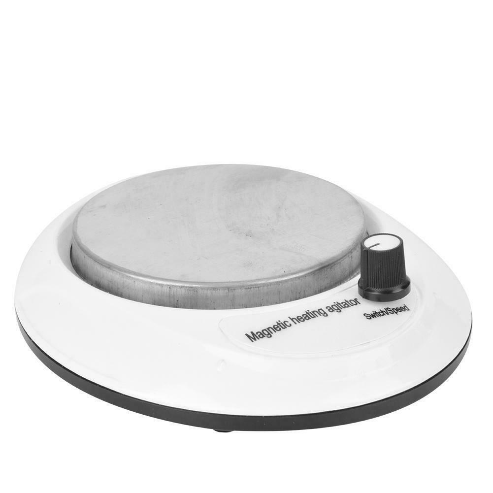 thumbnail 12 - 3000-RPM-Magnetic-Stirrer-Mixer-Machine-Heating-Hot-Plate-Laboratory-100-240V