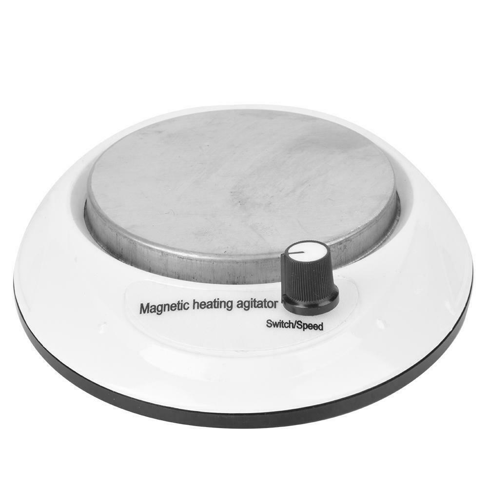 thumbnail 14 - 3000-RPM-Magnetic-Stirrer-Mixer-Machine-Heating-Hot-Plate-Laboratory-100-240V